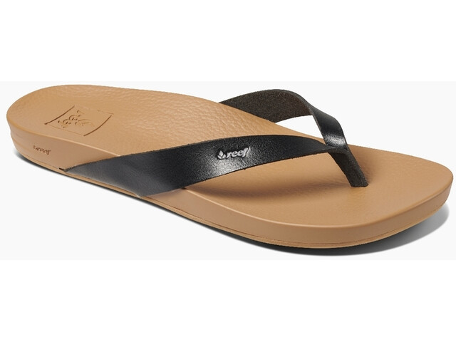 Reef Cushion Bounce Court Sandalias Mujer, black/natural